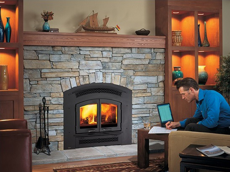 Regency Excalibur R90 Wood Fireplace